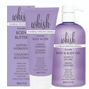 Whish Bath gel and Bodu Butter Duo